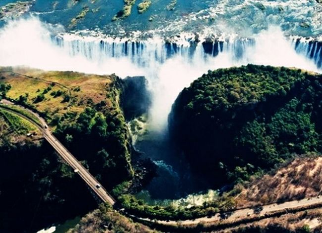 Victoria Falls doesn't look that scary any more ;)