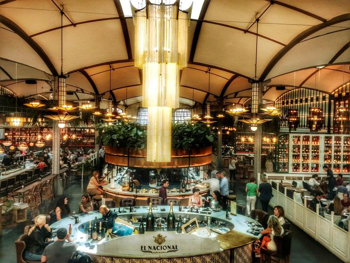 Architecture El Nacional Restaurante El Nacional Foodie Illuminated Barcelona Architecture Barcelona #urbanana: The Urban Playground