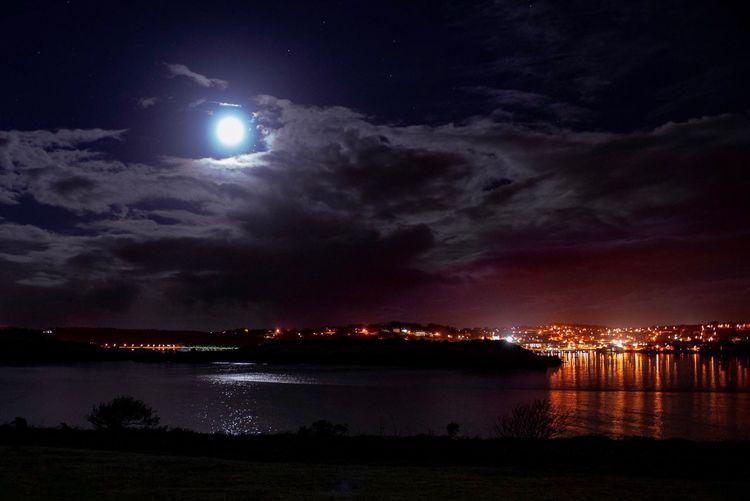 Moon over
