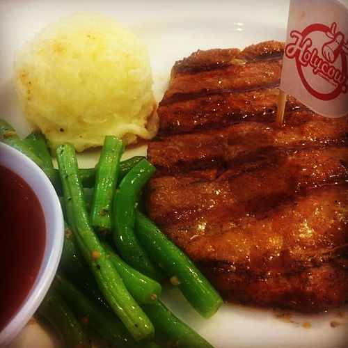 Been eating steak for 3 times last week, this is Buddy's Special from @Steakholycow CampBONJER *puasa daging sampe lebaran*