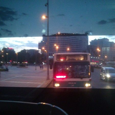 Kayseri Otobus camındanMeydan