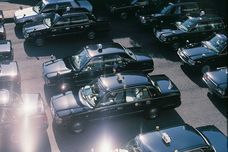 Architecture Car City Day High Angle View Land Vehicle Mode Of Transportation Motor Vehicle Motorcycle No People Outdoors Parking Retro Styled Road Stationary Street Traffic Transportation Travel EyeEmNewHere