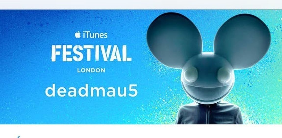 Deadmau5 iTunes Festival. Music London