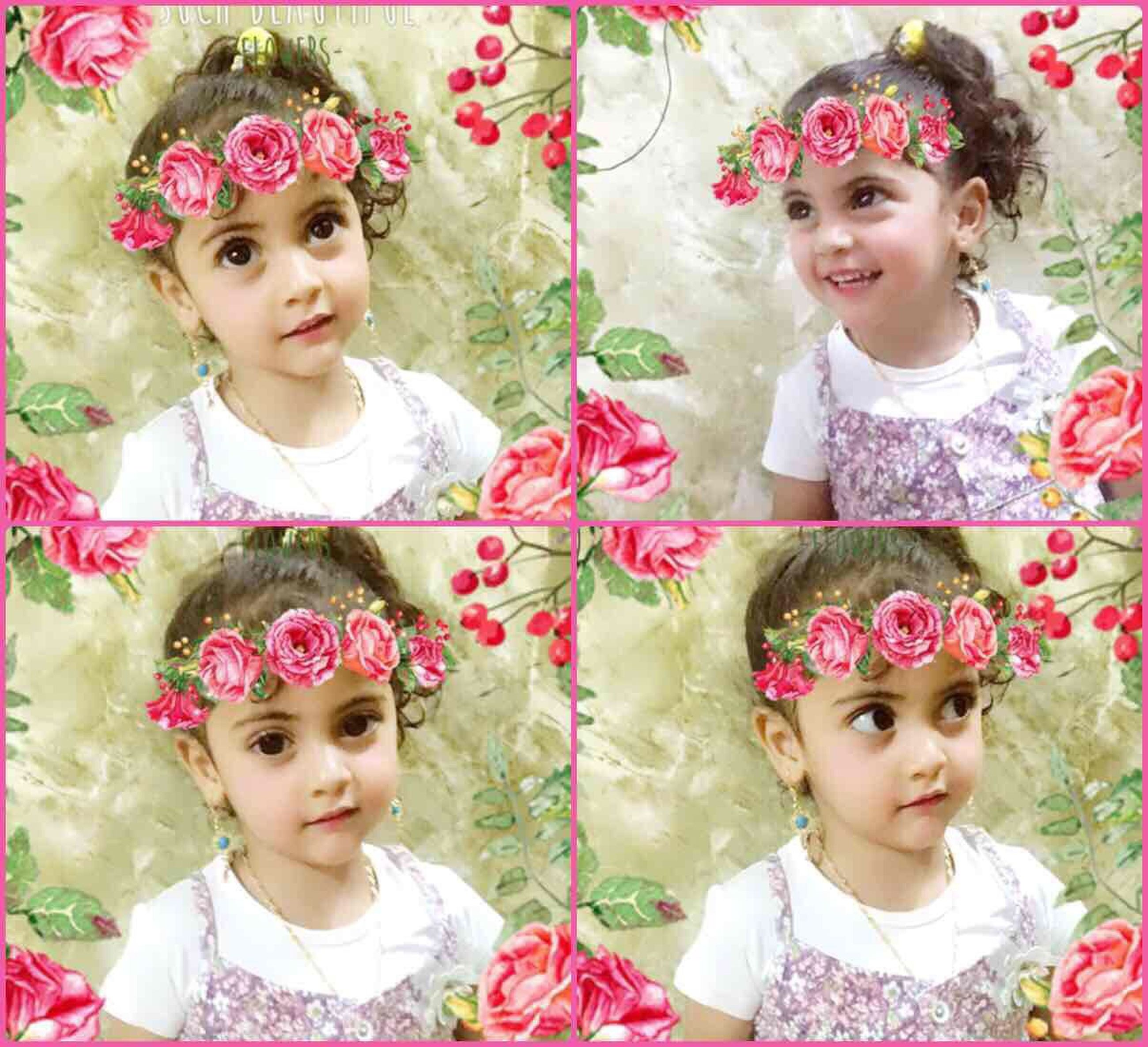 girls, childhood, child, crown, princess, tiara, innocence, cute, waist up, looking at camera, front view, children only, elementary age, togetherness, real people, portrait, wearing flowers, friendship, flower, headdress, day, headband, outdoors, close-up, people