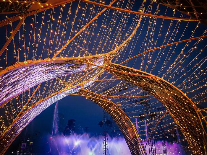 Festival EyeEm Best Shots EyeEmNewHere EyeEm Selects EyeEm Gallery Eye4photography  EyeEm Eyeem Market Light Lighting Equipment Lights Fountain Show Sound of Life Thailand Thai Thailand_allshots Illuminated City Architecture Light Painting