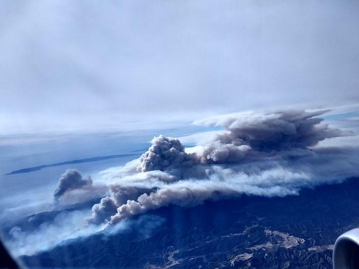 Thomas Fire Air