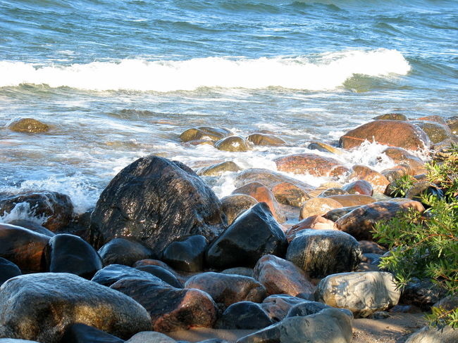 Rippling Waves, Near Halifax ~ Beach Beauty In Nature Day Nature No People Nova Scotia Nova Scotia, Canada Outdoors Pebble Pebble Beach Sea Tranquility Water Wave Waves Waves Rolling In Wet Rocks