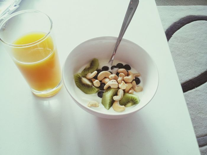 Fitspo Eating Healthy Lets Go  All You Need Is Fruit ♥It's all about the smallest things you know..