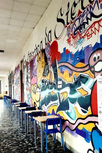 School Murales Murale Mural Art Art Check This Out Urban Lifestyle Urban Geometry Perspective Urban4filter