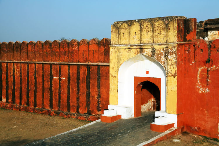 Entrance Of Jaigarh Fort