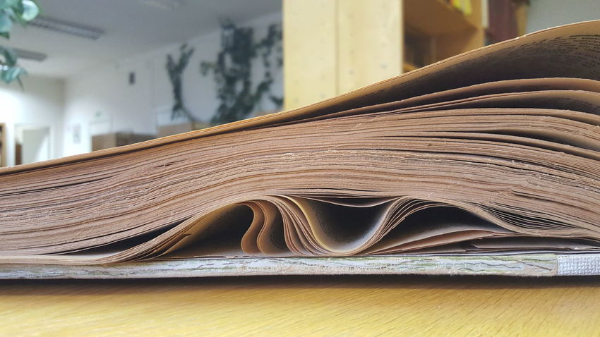 Book Close-up Curled Up Education Library Macro Media News Old Age Old Book Old News Old Newspaper Paper Press Writing