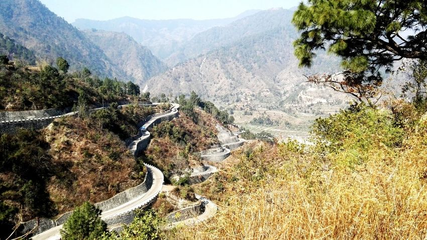 Winding Mountain Road Nepal Travel Check This Out Nature Travel Travel Photography