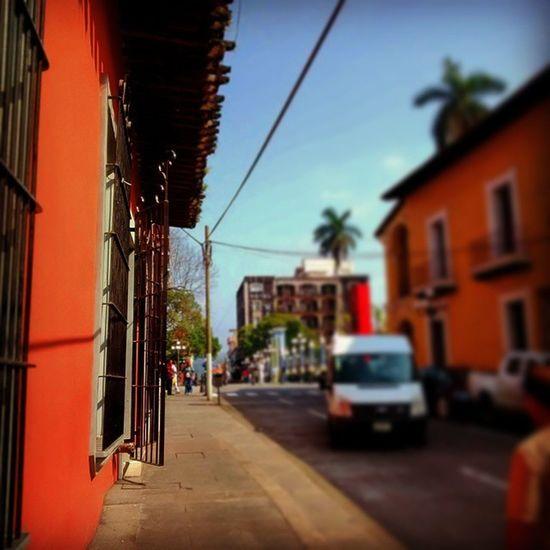Una antigüa calle de Córdoba. Córdoba Mexico Street