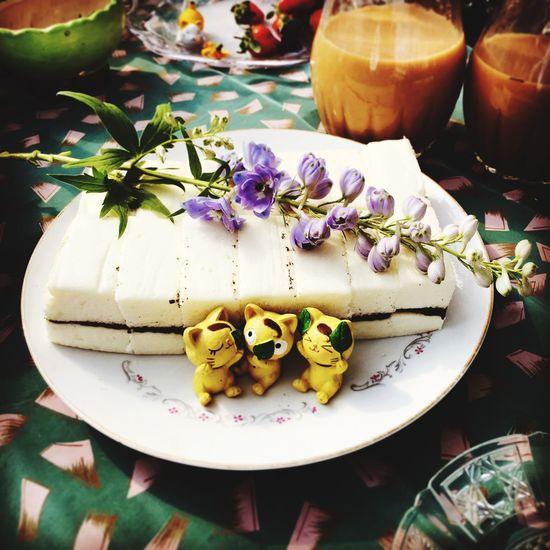 Cake Angel Cake Sesame Njsayshi Taiwan Joely Foodphotography Foodporn Delicious Pacnic Food Sweet Dessert Tea Time
