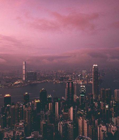 Hong Kong . HongKong Thepeak First Eyeem Photo