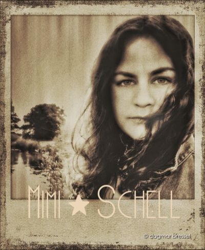 Mimi Schell musician Beauty Shootermag Musician Melancholy Monochromeart Momochrome Portraits Polamatic Polaroid Music