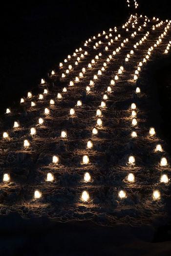 2017 Candle Candle Night Candlelight Cold Temperature Dome Festival Igloo Japan Kamakura Light Mini Igloo Night Tochigi Winter Yunishigawa かまくら祭 キャンドルナイト ミニかまくら 栃木 湯西川温泉