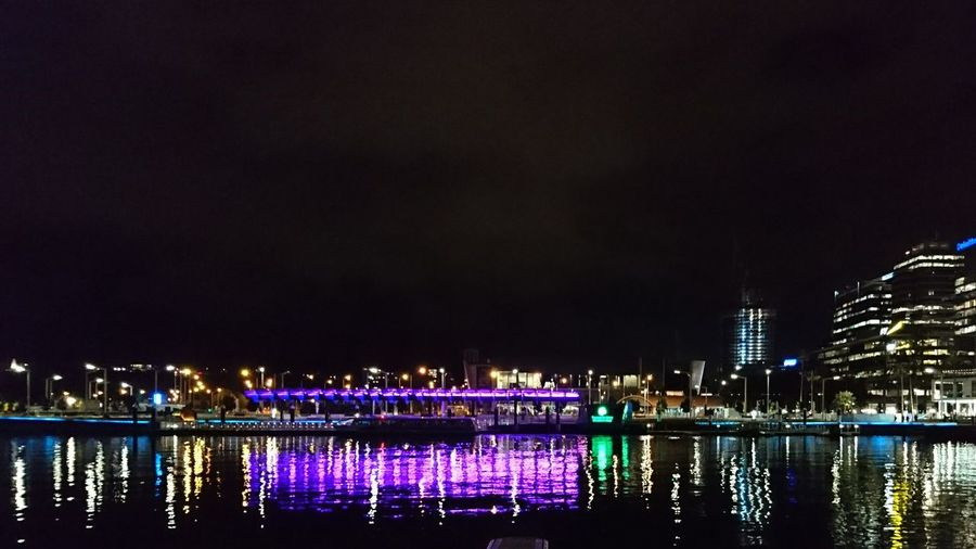 Light reflections Lights Reflections XperiaZ5 Elizabeth Quay