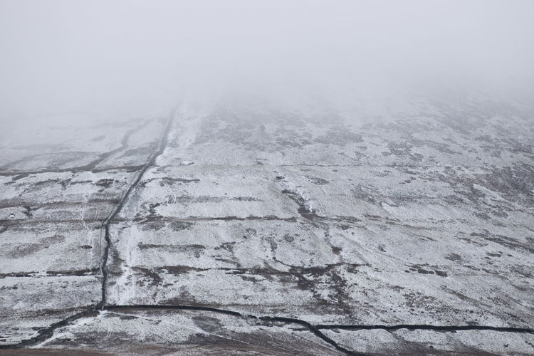Yorkshire Backgrounds Beauty In Nature Close-up Cold Temperature Fog Landscape Mountain Nature No People Outdoors Scenics Three Peaks Yorkshire Dales
