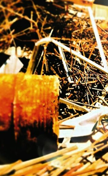"Textures And Surfaces ""Rusty Gold"" Metal Rusts...scrap metals...excesses of our construction site. A Heap Of Debris. Taking Photos Scrapmetal"