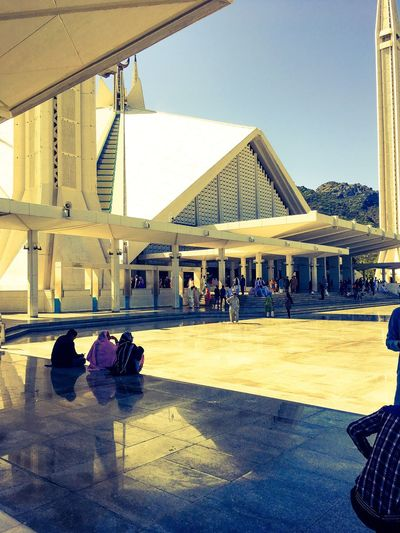 The Architect - 2017 EyeEm Awards Islamabad Pakistan Sunny Day Faisal Mosque Day Out