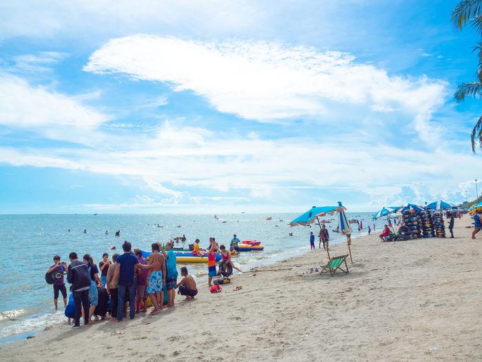 Trip beach and