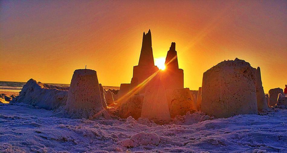 Sand city at