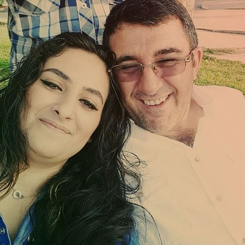 Canım babacımla selfieee ??? Iyiki Varsın Yawrum