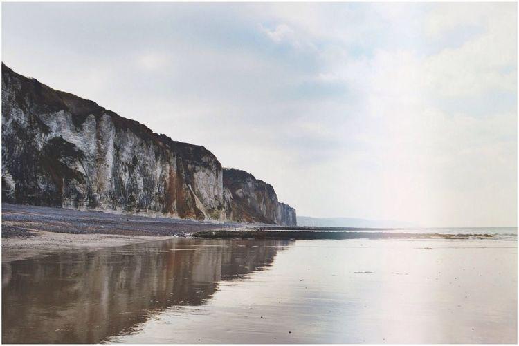 Beach Sea Cliffs Taking Photos