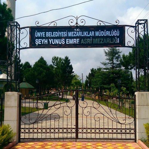 Ordu ünye Yunusemre Türbe islam muslim alim tomb karadeniz Turkiye art islamic mezarlik cemetery