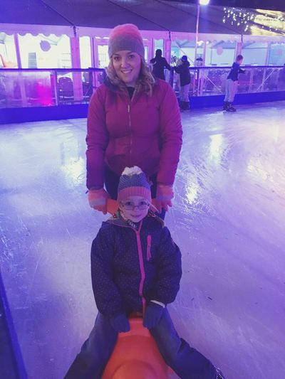 My little ice skaters Ice Skating ❄ Christmas Time