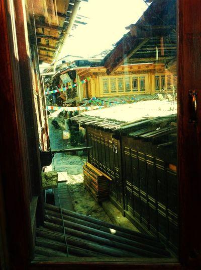 it's ancient town of Shangri-La