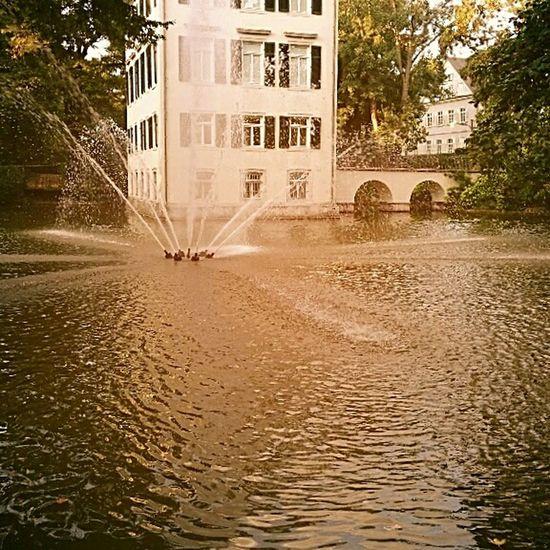 Однаждывпарке... парк Architecture дом фонтан фотограф пейзаж солнечно Осень2016 September 2016