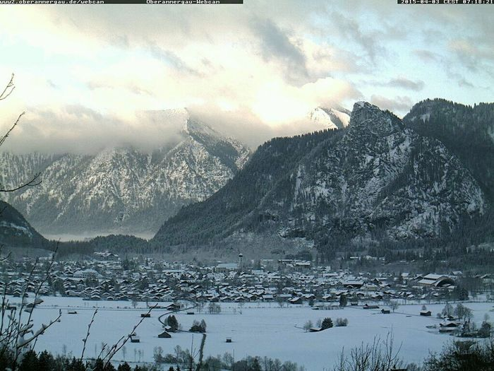 Oberammergau Winter Is Back No Spring Snow In The Mountains