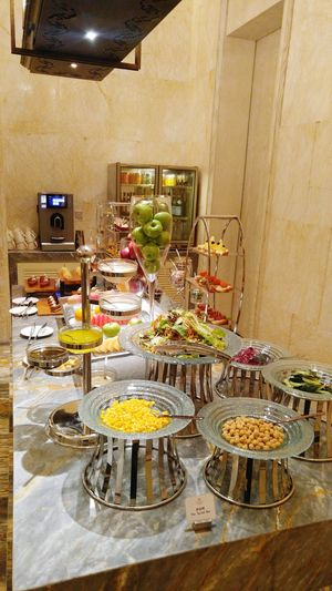 View of food on table