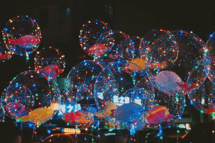 Night Celebration Illuminated Multi Colored Christmas Christmas Decoration No People