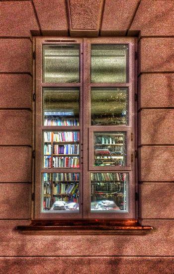 Books Window -