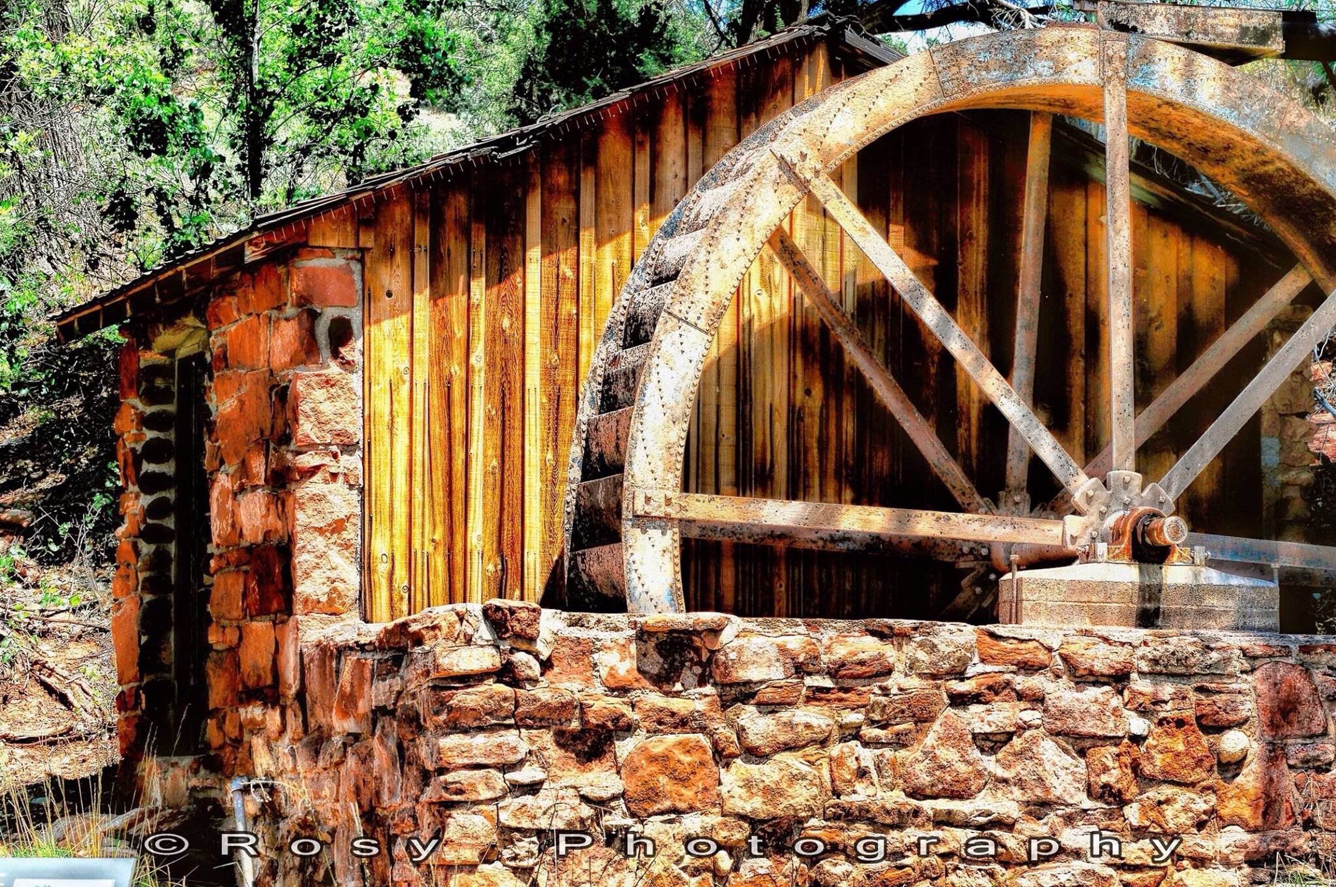 built structure, architecture, arch, abandoned, old, connection, bridge - man made structure, weathered, deterioration, stone wall, obsolete, building exterior, run-down, damaged, wall - building feature, tree, rusty, brick wall, outdoors, no people