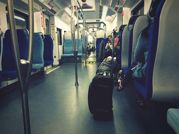 Travel Public Transportation Mode Of Transportation Rail Transportation Vehicle Seat Transportation Seat Subway Train Train Interior Passenger Passenger Train Journey