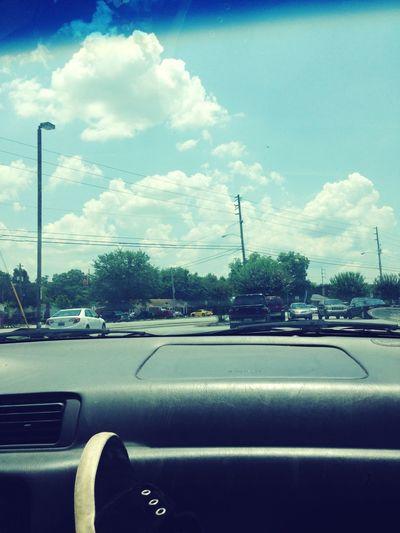 In the parking lot. BoredAF First Eyeem Photo