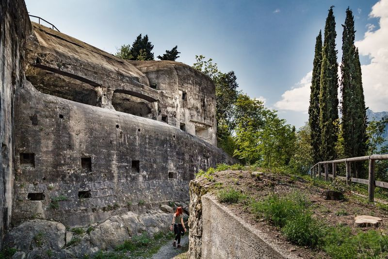 Fortino Architecture Plant Built Structure History The Past Tree Sky Nature Day Building Exterior Ancient Travel Low Angle View No People Old Ruin Travel Destinations Old Sunlight Outdoors Growth