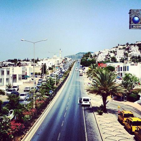 Turkey Bodrum Oasis Summer Holiday Gümbet Outside Pretty View Sun Sunny Day Bridge Road Blue Sky July Türkiye Lovely