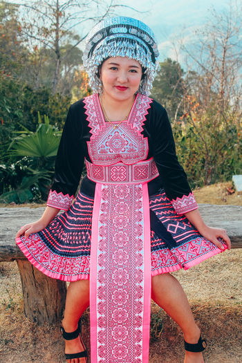 Hmong hill tribethey have a good culture and traditions that belong to their tribes for a long time.