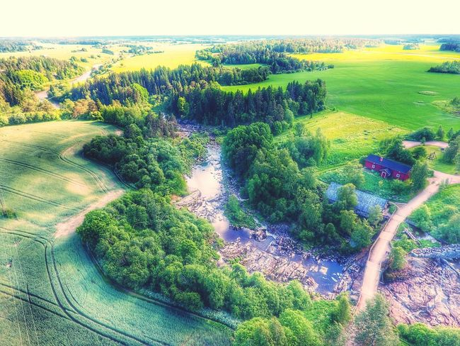 Aerial View Aerialphotography Lieto Nautelankoski Landscape_Collection Life For The Story