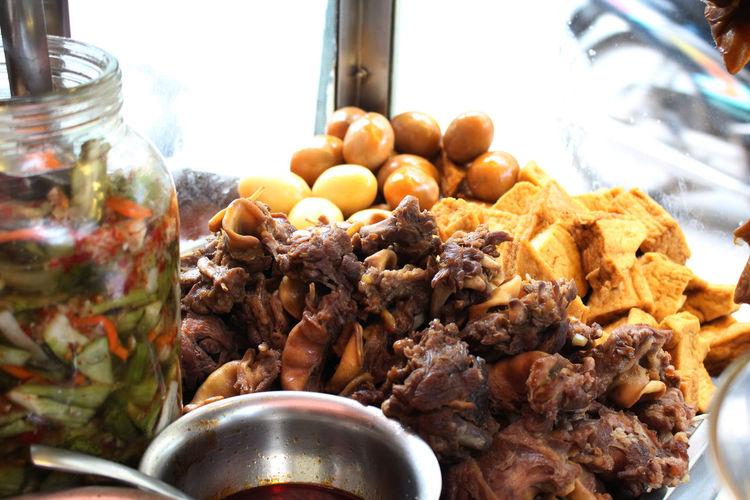 Close-up Day Ege Food Food And Drink Freshness Healthy Eating Indoors  Meat No People Palau Phalau Phá Lấu Mì Cay Pickle Vietnamfood Vietnamfoodstreet