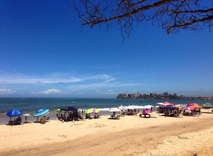 Travel Life Is A Beach Enjoying The View Brazil Beach Sea And Sky Clouds And Sky Colors Enjoythesun Natural Beauty