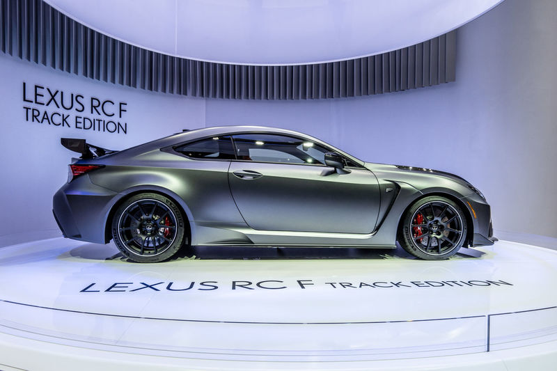 Car Motor Vehicle Mode Of Transportation Transportation Land Vehicle Sports Car No People Luxury Elégance Silver Colored Clean Lexus RCF Exhibition Exhibit