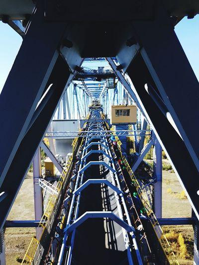 f60 Kohleabbau Stealway Technology Skyscraper Metal Complexity Architecture Sky Built Structure Steel Mill Steel Worker First Eyeem Photo