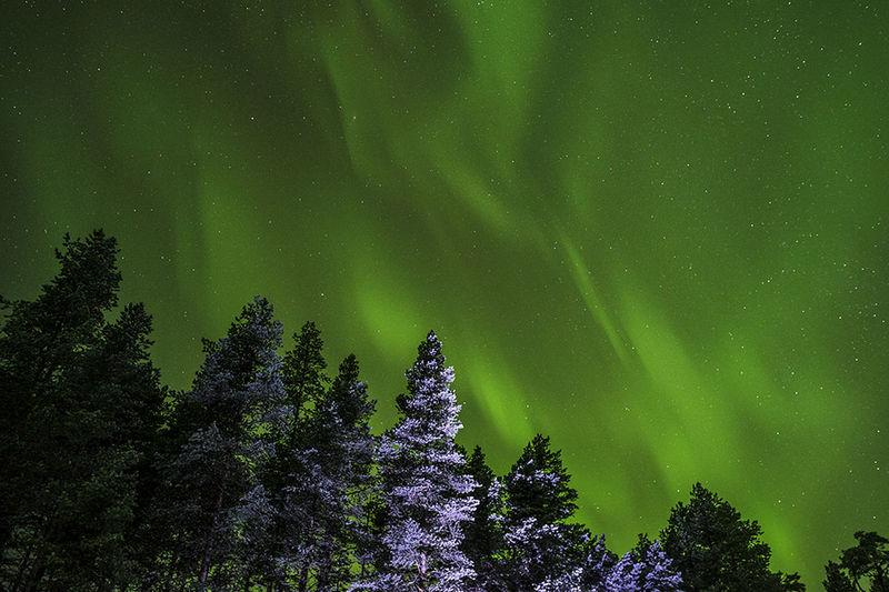 Aurora over