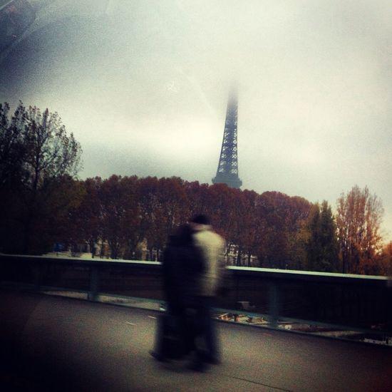 Passage éclair à Paris en Novembre